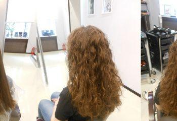 Щадящая биозавивка волос