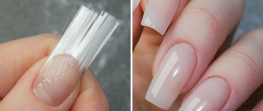Как нарастить ногти шёлком
