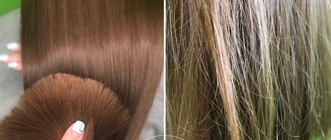Нанопластика волос профессиональными средствами