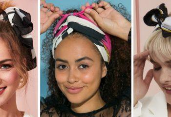 Как завязать летний платок на голове