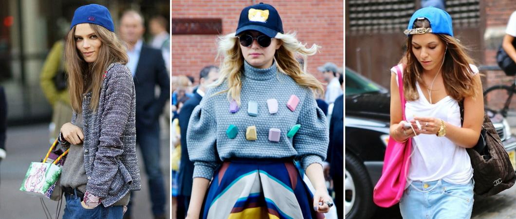 Летние женские кепки: модные фасоны