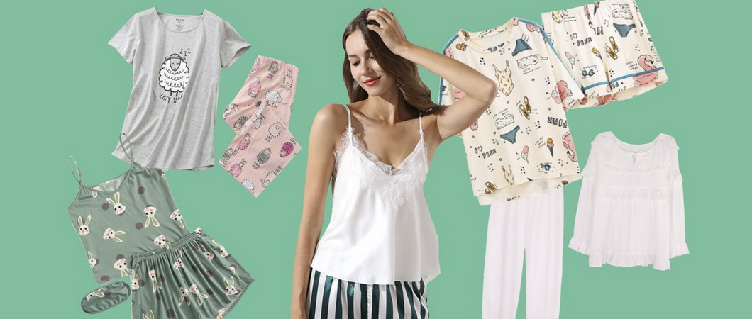 Женские пижамы на лето: ткани и фасоны