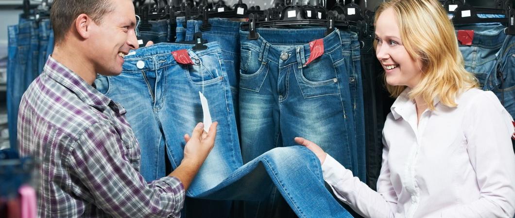 Как определить размер женских джинсов