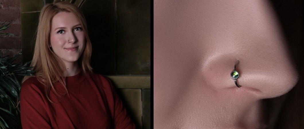 Пирсинг носа: виды и особенности нострила
