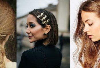 Стильные заколки и резинки для волос