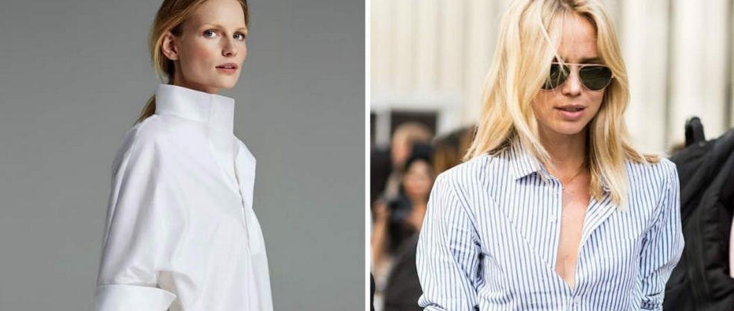 Как определить размер женской и мужской рубашки
