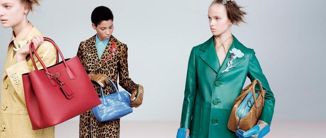 Женские сумки в винтажном стиле