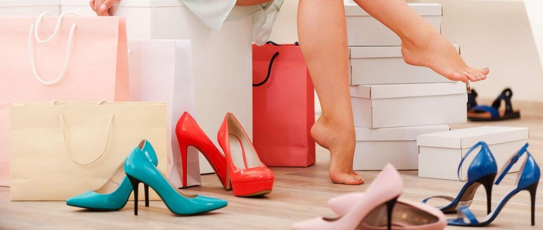 Таблицы размеров женской и мужской обуви